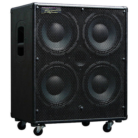 Bergantino HD410 'High-Definition' 4-10″ & Tweeter Bass Guitar Loudspeaker , Amps, Bergantino, Texas Guitar Ranch - Texas Guitar Ranch