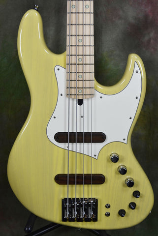 Xotic XJ-IT Yellow Blonde 4 String Jazz Bass Guitar with Gig Bag Blond , Bass Guitars, Xotic, Texas Guitar Ranch - Texas Guitar Ranch