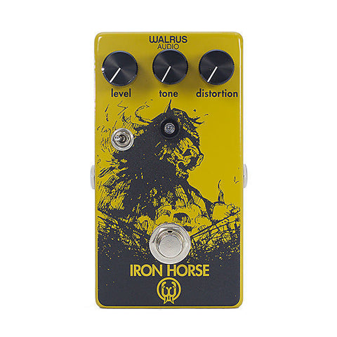 Walrus Audio Iron Horse LM308 Distortion Guitar Effects Pedal , Pedals, Walrus Audio, Texas Guitar Ranch - Texas Guitar Ranch