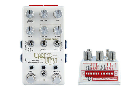 Chase Bliss Audio Warped Vinyl Vibrato Chorus mkII , Pedals, Chase Bliss, Texas Guitar Ranch - Texas Guitar Ranch