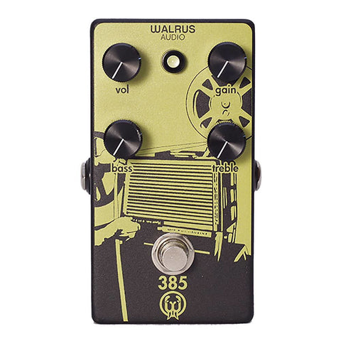 Walrus Audio 385 Overdrive Guitar Effects Pedal , Pedals, Walrus Audio, Texas Guitar Ranch - Texas Guitar Ranch