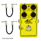 Xotic AC Booster with Free Patch Cables Guitar Effects Pedal , Pedals, Xotic, Texas Guitar Ranch - Texas Guitar Ranch