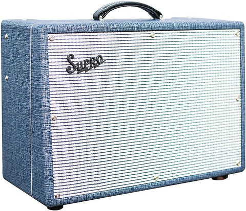 Supro 1648RT Saturn Reverb - 15W 1x12 Guitar Tube Combo Amp Made In USA , Amps, Supro, Texas Guitar Ranch - Texas Guitar Ranch