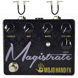 Mojo Hand FX Magistrate Distortion with 3 Band EQ Guitar Effects Pedal , Pedals, Mojo Hand FX, Texas Guitar Ranch - Texas Guitar Ranch