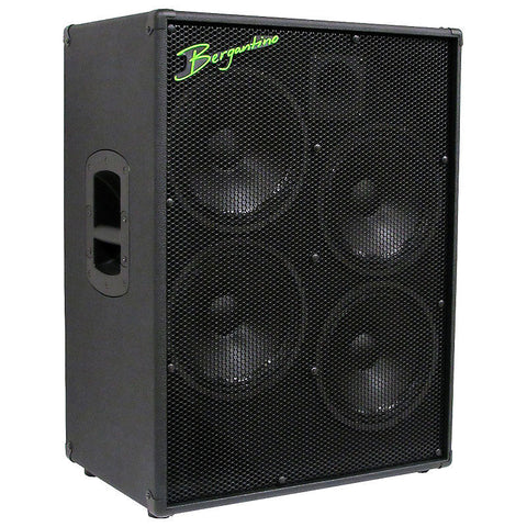 "Bergantino HDN410 'High Definition Neo' Series 4-10"" & Tweeter Bass Guitar Loudspeaker , Amps, Bergantino, Texas Guitar Ranch - Texas Guitar Ranch"