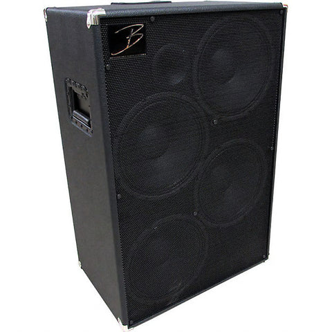 "Bergantino NV-412 New Vintage - 4""x12"" Bass Guitar Cabinet , Amps, Bergantino, Texas Guitar Ranch - Texas Guitar Ranch"