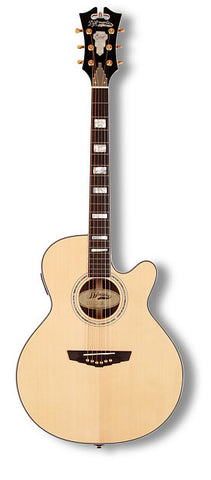 D'Angelico Gramercy SG-200 Grand Auditorium Acoustic Guitar Natural