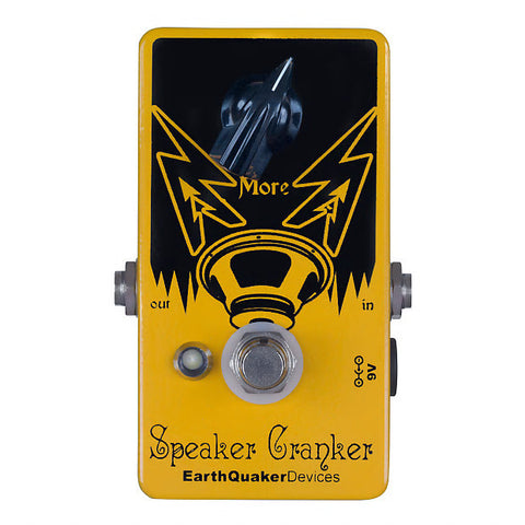 EarthQuaker Devices Speaker Cranker Overdrive Guitar Effects Pedal