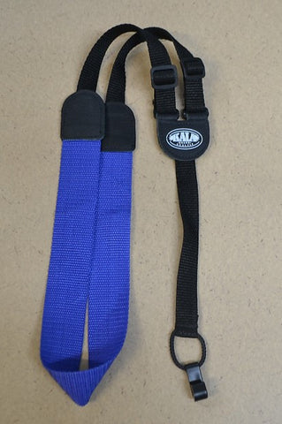 Blue Kala Nylon and Leather Classical Ukulele Strap , Accessories, Kala, Texas Guitar Ranch - Texas Guitar Ranch