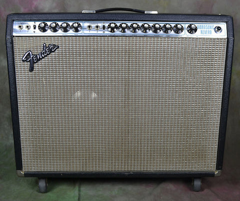 Fender Vibrosonic Reverb 1975 w JBL 1x15 & Victoria Luggage Cover, Footswitch, Transformers , Amps, Fender, Texas Guitar Ranch - Texas Guitar Ranch