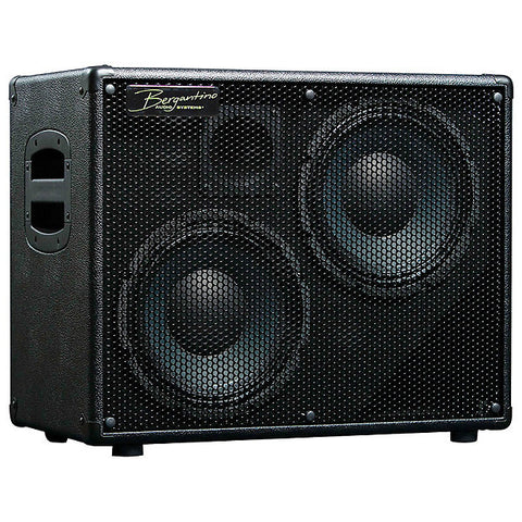 Bergantino HD210 'High-Definition' 2-10″ & Tweeter Bass Guitar Loudspeaker , Amps, Bergantino, Texas Guitar Ranch - Texas Guitar Ranch