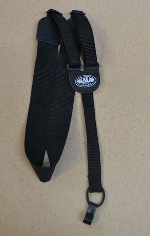Black Kala Nylon and Leather Classical Ukulele Strap , Accessories, Kala, Texas Guitar Ranch - Texas Guitar Ranch