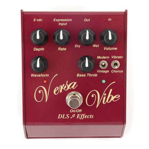 DLS Effects Versa Vibe Vibrato Guitar Effects Pedal , Pedals, DLS Effects, Texas Guitar Ranch - Texas Guitar Ranch