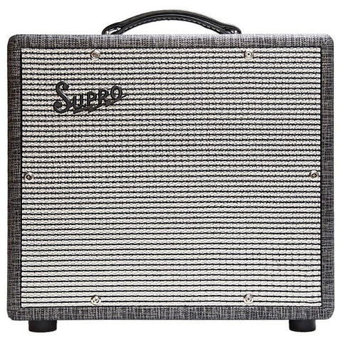 Supro 1600 Supreme 25w 10 Speaker Tube Amp Made In USA , Amps, Supro, Texas Guitar Ranch - Texas Guitar Ranch