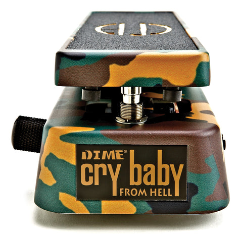 Dunlop DB01 Dimebag Crybaby From Hell Guitar Wah Pedal , Pedals, Dunlop, Texas Guitar Ranch - Texas Guitar Ranch