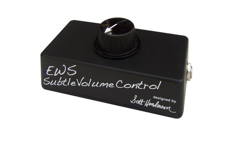 E.W.S. Subtle Volume Control Guitar Effects Pedal , Pedals, EWS, Texas Guitar Ranch - Texas Guitar Ranch