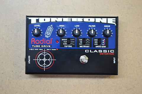 Radial Tonebone Classic Tube Distortion Pedal 12AX7 , Pedals, Radial, Texas Guitar Ranch - Texas Guitar Ranch