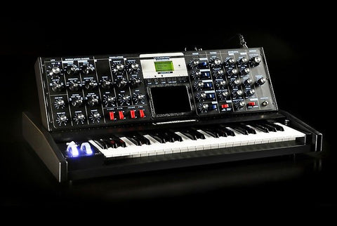 Moog MiniMoog Voyager Electric Blue Edition Synthesizer Synth , Keys, Moog, Texas Guitar Ranch - Texas Guitar Ranch