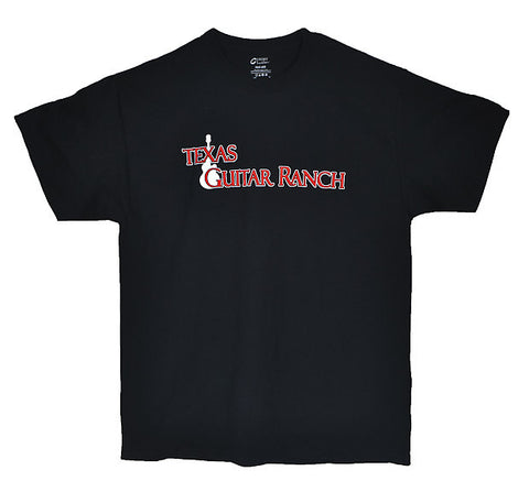 Texas Guitar Ranch Logo T-Shirt Large