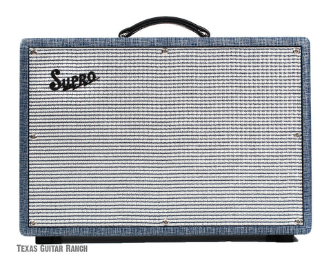 Supro 1690T Coronado 35W 2x10 Guitar Tube Combo Amp Made In USA , Amps, Supro, Texas Guitar Ranch - Texas Guitar Ranch