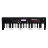Korg Kross 2 61-key Synthesizer Workstation with Synth-action Keybed, EDS-i Sound Engine, Audio Recorder, Step and MIDI Sequencers, Drum Track, Arpeggiator, and Mic/Line Inputs