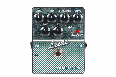 Tech 21 SansAmp Character Series Leeds Distortion Guitar Effects Pedal , Pedals, Tech 21, Texas Guitar Ranch - Texas Guitar Ranch