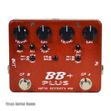 Xotic BB Plus Preamp with Free Patch Cables Guitar Effects Pedal , Pedals, Xotic, Texas Guitar Ranch - Texas Guitar Ranch