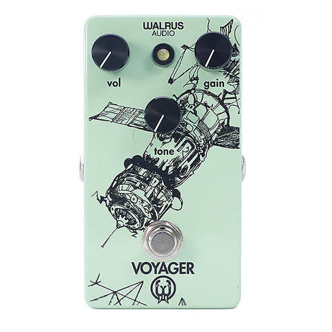 Walrus Audio Voyager Preamp Overdrive Guitar Effects Pedal , Pedals, Walrus Audio, Texas Guitar Ranch - Texas Guitar Ranch