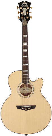 D'Angelico Mercer Grand Auditorium SG-100 Acoustic Guitar wFishman INK4 & Hardshell Case Natural , Guitars, D'Angelico, Texas Guitar Ranch - Texas Guitar Ranch