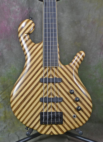 2011 Drake Darla Natural 5-String Fretless Electric Bass Guitar , Bass Guitars, Drake Darla, Texas Guitar Ranch - Texas Guitar Ranch