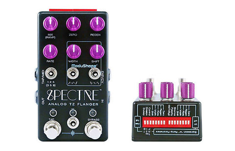 Chase Bliss Audio Spectre Analog Flanger , Pedals, Chase Bliss, Texas Guitar Ranch - Texas Guitar Ranch