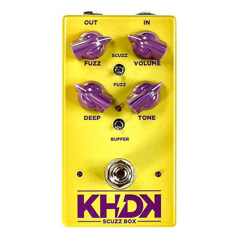 KHDK The Scuzz Box Germanium-Voiced Fuzz Guitar Effects Pedal , Pedals, KDHK, Texas Guitar Ranch - Texas Guitar Ranch