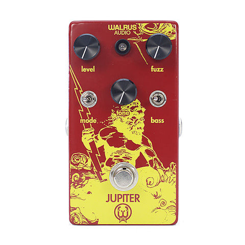 Walrus Audio Jupiter Multi-Clip Fuzz Guitar Effects Pedal , Pedals, Walrus Audio, Texas Guitar Ranch - Texas Guitar Ranch