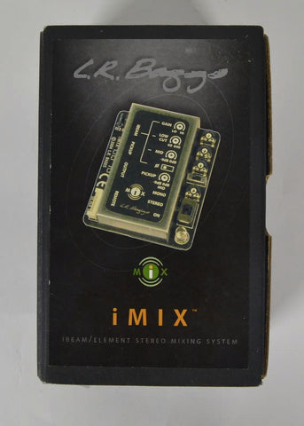 LR Baggs iMix Acoustic Guitar Pickup System with Blending Preamp , Accessories, LR Baggs, Texas Guitar Ranch - Texas Guitar Ranch