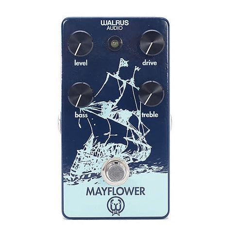 Walrus Audio Mayflower Mid-Range Overdrive With Tone Shaping Guitar Effects Pedal , Pedals, Walrus Audio, Texas Guitar Ranch - Texas Guitar Ranch