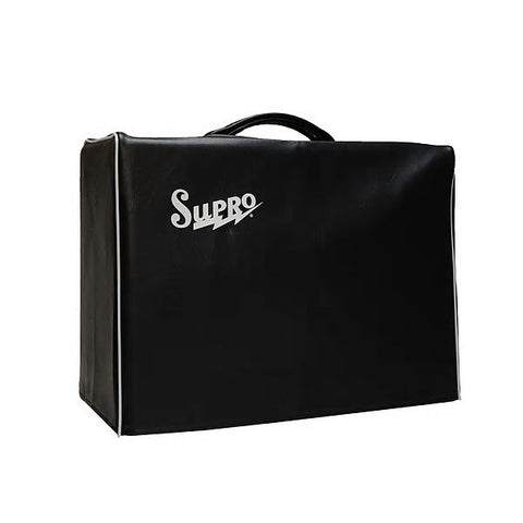 Supro VC10 Supro 1x10 Amp Cover, Black Vinyl with Logo , Accessories, Supro, Texas Guitar Ranch - Texas Guitar Ranch