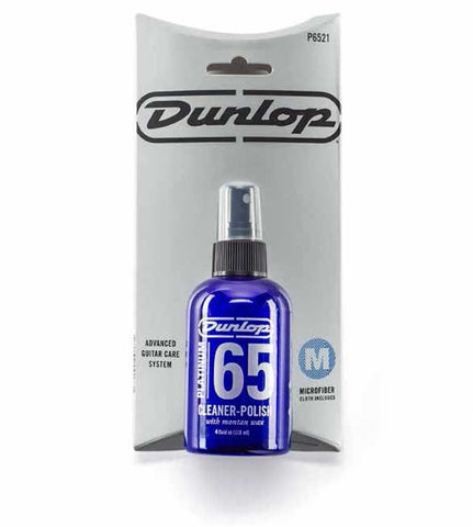 Dunlop P6521 Platinum 65 Cleaner-Polish with Cloth , Accessories, Dunlop, Texas Guitar Ranch - Texas Guitar Ranch