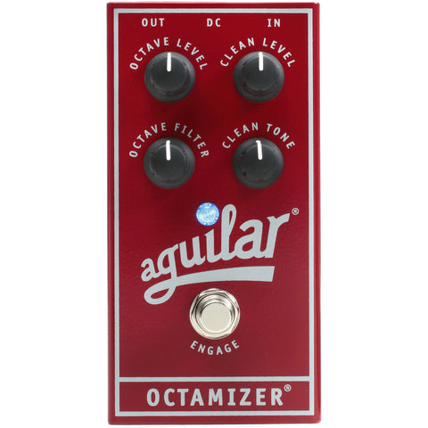 Aguilar Octamizer Analog Bass Octave Effects Pedal , Pedals, Aguilar, Texas Guitar Ranch - Texas Guitar Ranch