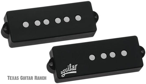 Aguilar AG 5P-60 Precision Bass 60's Tone Pickup Set 5 String 1960's P-Bass , Accessories, Aguilar, Texas Guitar Ranch - Texas Guitar Ranch