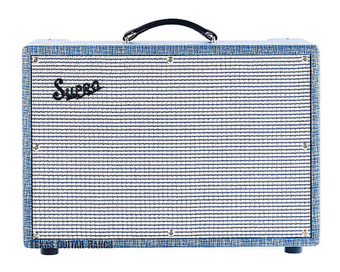 Supro 1624T Dual Tone 24W 1x12 Guitar Tube Combo Amp Made In USA , Amps, Supro, Texas Guitar Ranch - Texas Guitar Ranch