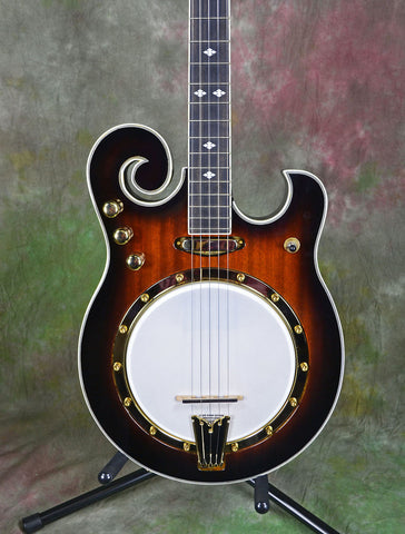 Gold Tone EBM-5 Left-Handed 5 String Electric Banjo , Folk, Gold Tone, Texas Guitar Ranch - Texas Guitar Ranch