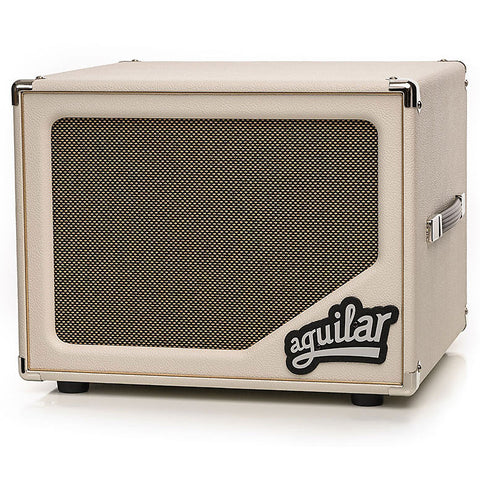 Aguilar SL112 Antique Ivory Bass Speaker Cabinet 1x12 Ltd Edition , Amps, Aguilar, Texas Guitar Ranch - Texas Guitar Ranch