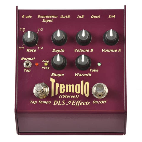 DLS Effects Tremolo Guitar Effects Pedal , Pedals, DLS Effects, Texas Guitar Ranch - Texas Guitar Ranch