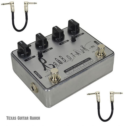 Xotic Robotalk RI Custom Shop Envelope Filter Auto Wah with Free Patch Cables Guitar Effects Pedal