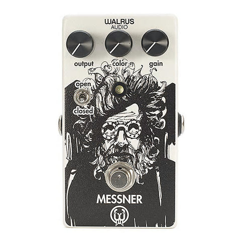 Walrus Audio Messner Transparent Light Gain Overdrive Guitar Effects Pedal , Pedals, Walrus Audio, Texas Guitar Ranch - Texas Guitar Ranch