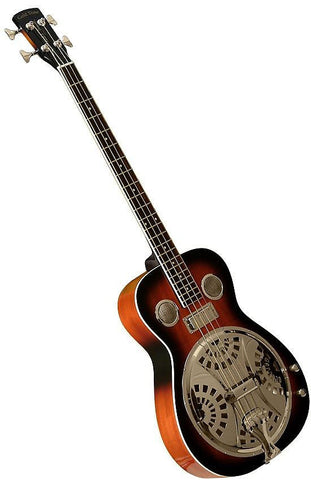 Gold Tone PBB Paul Beard Resonator Bass Guitar with Hard Case , Bass Guitars, Gold Tone, Texas Guitar Ranch - Texas Guitar Ranch