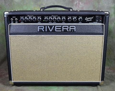 Rivera Quiana Studio 112 50w 25w Guitar Tube Amp , Amps, Rivera, Texas Guitar Ranch - Texas Guitar Ranch