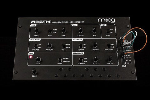 Moog Werkstatt-01 Kit Tabletop Mini Synthesizer , Keys, Moog, Texas Guitar Ranch - Texas Guitar Ranch