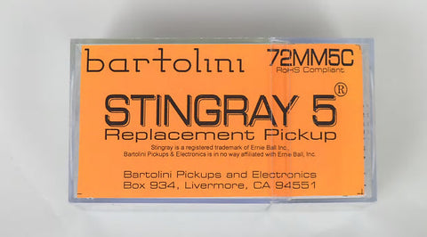 Bartolini 72MM5C StingRay 5 bass pickup , Accessories, Bartolini, Texas Guitar Ranch - Texas Guitar Ranch
