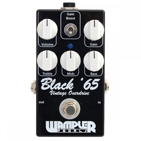 Wampler Black 65 Overdrive Guitar Effects Pedal , Pedals, Wampler, Texas Guitar Ranch - Texas Guitar Ranch